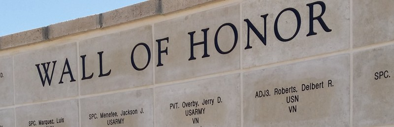 McCamey, TX Veterans Wall of Honor