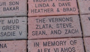 4x8 engraved wirecut bricks