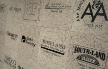 16x16 logos engraved on granite