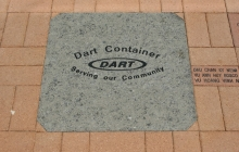24x24 engraved granite