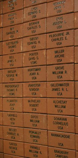 Medal of Honor engraved bricks