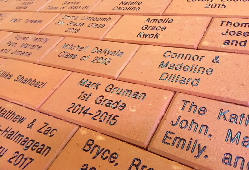 Fundraising With Personalized Engraved Bricks And Pavers